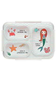 Personalised Under The Sea Mermaid Bento Lunch Box - 281418