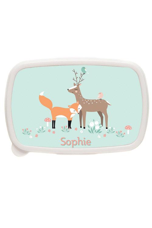 Personalised Fox and Reindeer Box