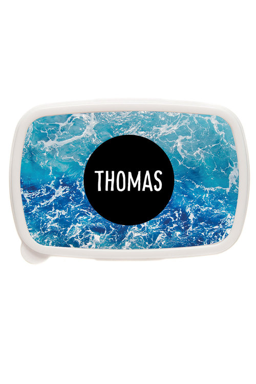 Personalised Deep Ocean Lunch Box