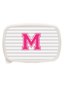 Personalised Stripe Letter Lunch Box - 281425
