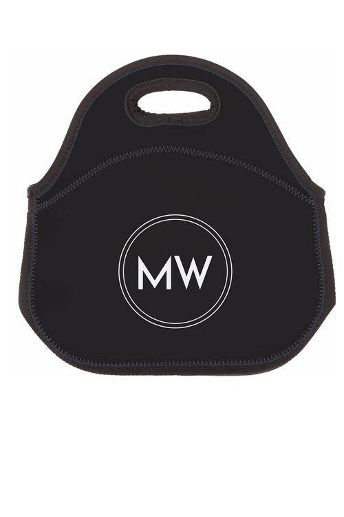 Personalised Monogram Neoprene Lunch Bag