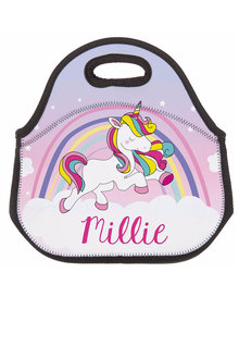 Personalised Unicorn Neoprene Lunch Bag - 281430
