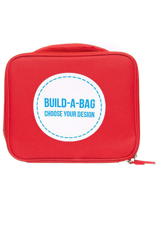 Personalised Red Lunch Bag