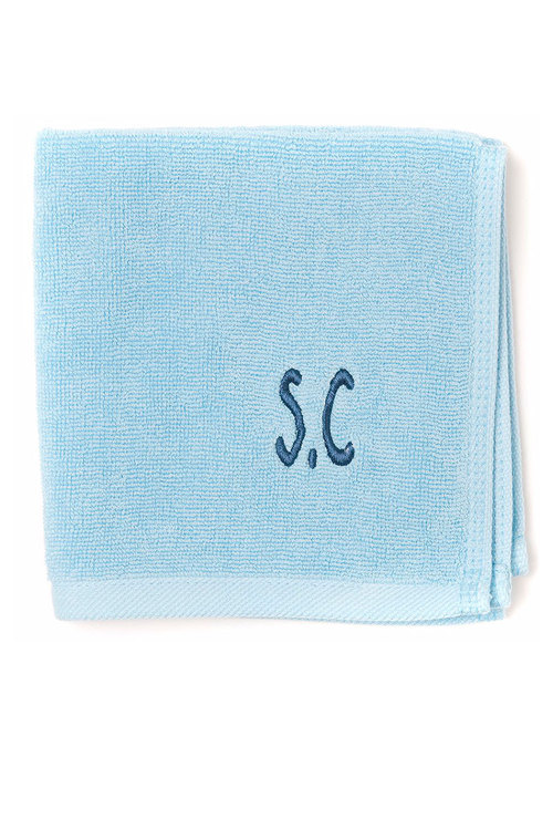 Personalised 100% Cotton Turquoise Face Towel