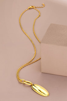 Fairfax & Roberts Contemporary Long Marquise Pendant Necklace - 281573