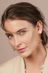 Fairfax & Roberts Contemporary Double Drop Ball Earrings