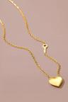 Fairfax & Roberts Contemporary Heart Necklace