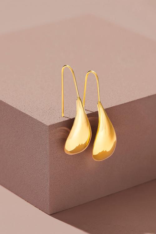 Fairfax & Roberts Contemporary Tear Drop Earrings