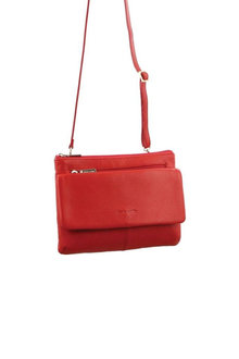 Pierre Cardin Leather Ladies Cross-Body Bag - 281627
