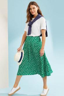 Capture A Line Midi Skirt - 281657