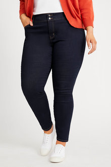 Sara So Slimming Straight Jean - 281664