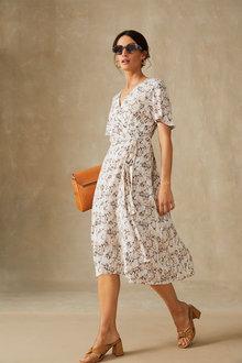 Grace Hill Wrap Dress - 281692