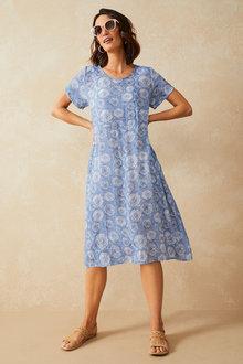 Capture Textured Panelled Midi Dress - 281707