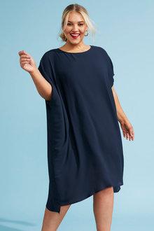 Sara Chiffon Drape Dress - 281722