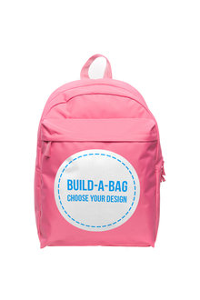 Personalised Build-A-Bag Pink Backpack - 281815