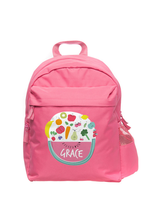 Personalised Build-A-Bag Pink Back Pack