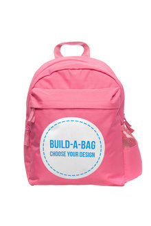 Personalised Build-A-Bag Pink Back Pack - 281816