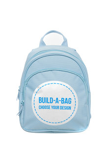 Personalised Mini Pale Blue Back Pack - 281817