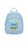 Personalised Mini Pale Blue Back Pack