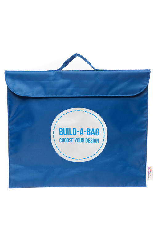 Personalised Build-A-Bag Navy Library Bag