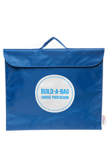 Personalised Build-A-Bag Navy Library Bag - 281819
