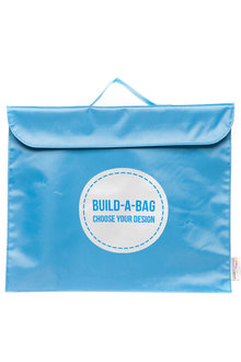 Personalised Build-A-Bag Light Blue Library Bag - 281821