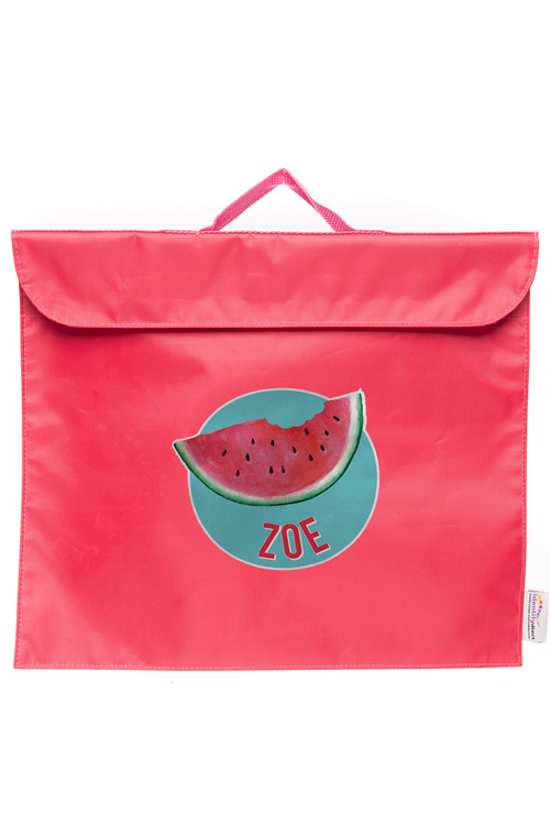 Personalised Build-A-Bag Pink Library Bag