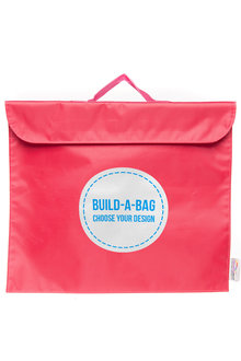 Personalised Build-A-Bag Pink Library Bag - 281822