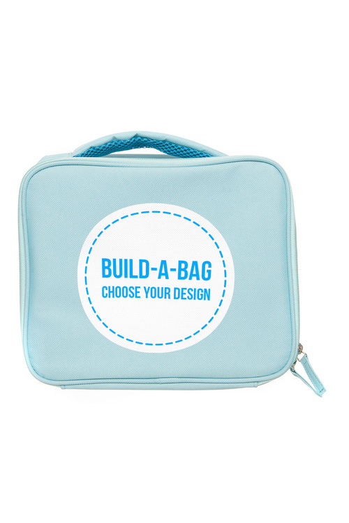 Personalised Build-A-Bag Mint Lunch Bag