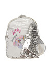 Personalised Choose-A-Design Silver Sequin Backpack