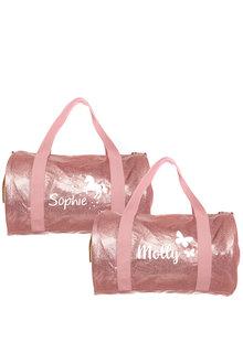 Personalised Sparkle Pink Kids Duffle Bag - 281833