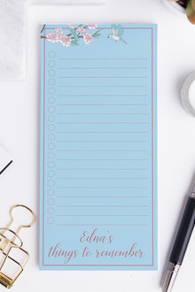 Personalised Bird & Blossom To Do List - 281837