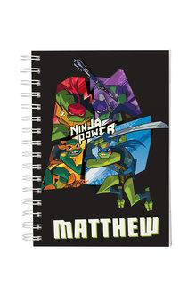 Personalised RTMNT Ninja Power Notebook - 281838