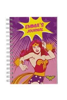 Personalised Wonder Woman A5 Notebook - 281839