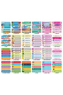 Personalised 30 Regular Value Labels Pack - 281845