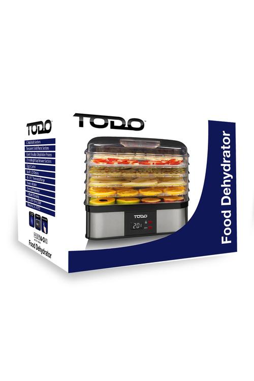 TODO 250W 5 Tray Food Dehydrator