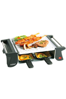 TODO 500W Stone Plate Mini Grill with pots - 281881