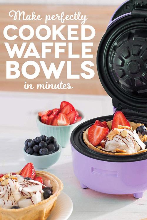 TODO Waffle Bowl Maker