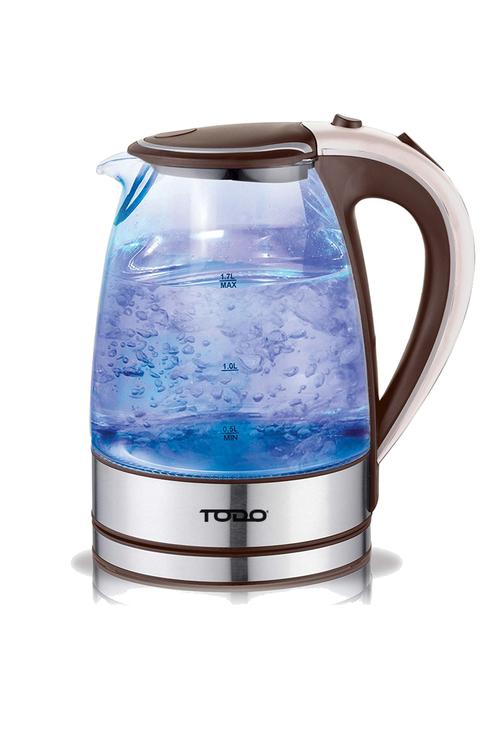 TODO 1.7L LED Glass Kettle