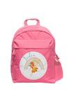 Personalised Lil Super Stars Medium Pink Backpack