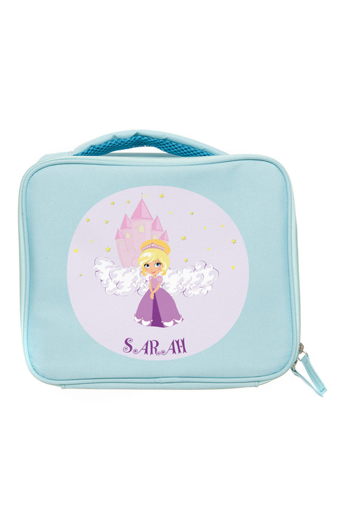 Personalised Lil Super Stars Mint Lunch Bag