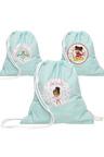Personalised Lil Super Stars Mint Wet Bag