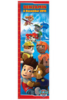Personalised Paw Patrol Growth Chart