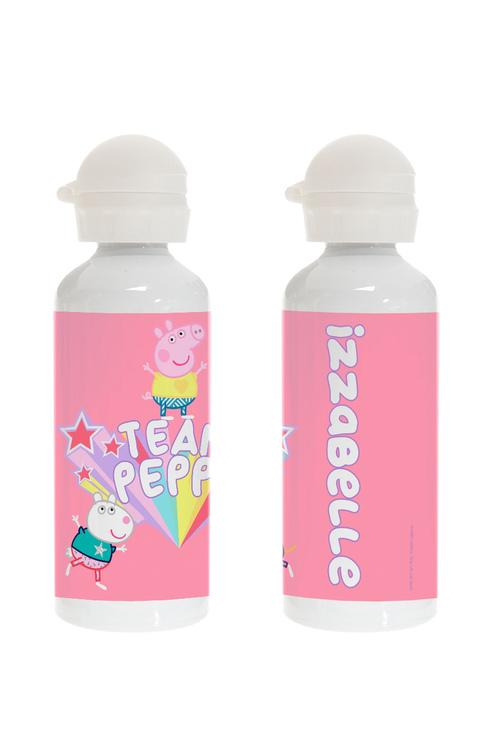 """Personalised Peppa Pig """"Team Peppa"""" Drink Bottle"""