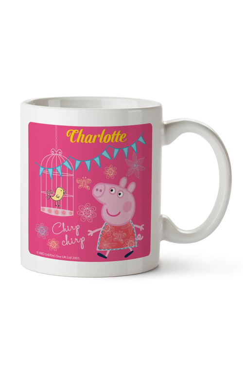Personalised Peppa Pig Ceramic Mug