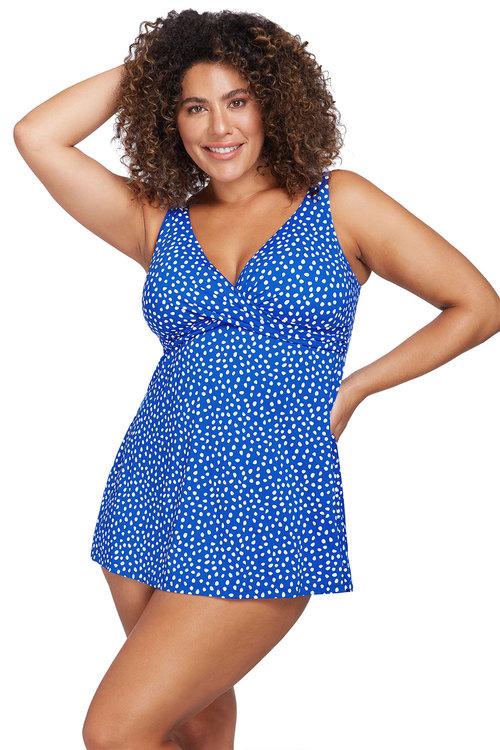 Artesands A'Pois Blue Delacroix Swimdress