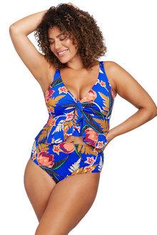 Artesands L'Atelier Blue Chagall Midriff Bikini Top - 282409