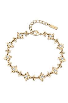Mestige Golden Soulful Anklet with Swarovski® Crystals - 282455