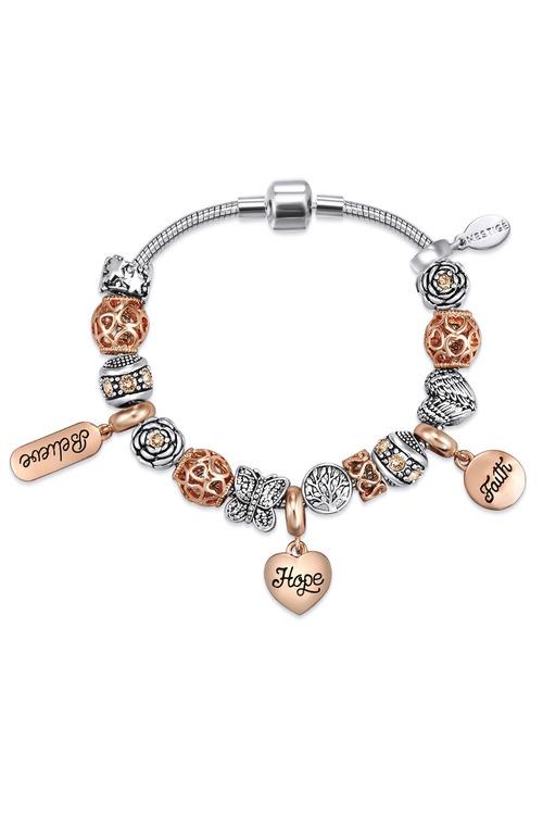 Mestige Expression Bracelet with Swarovski® Crystals