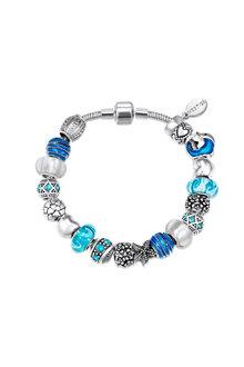 Mestige Ocean Blue Bracelet with Swarovski® Crystals - 282472